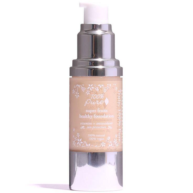 100% Pure Healthy Skin Foundation   petitvour.com