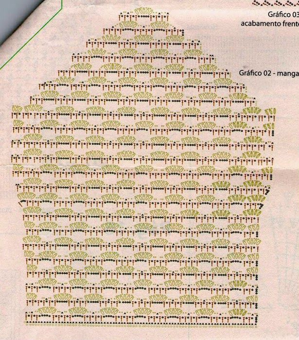 Crochetemoda: Casaquinho de Crochê