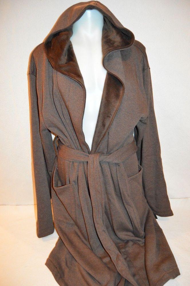 UGG Australia Man s BRUNSWICK Robe with Hood NEW Size Large X-Large Retail   145  fashion  clothing  shoes  accessories  mensclothing  sleepwearrobes  (ebay ... 0680828d5