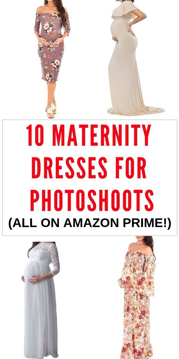 c394cf5534ce7 Trying to find the perfect maternity picture outfit? This list of ten  maternity photoshoot dresses is perfect for you! With a range of casual,  dressy, ...