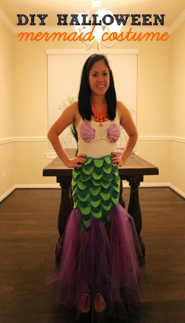 34 best disfraces images on pinterest costume ideas carnivals and diy halloween mermaid costume solutioingenieria Images