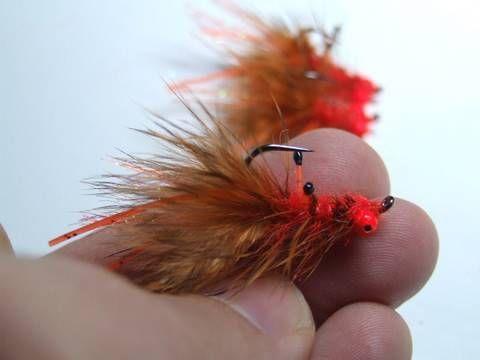 Tying a Carp Fly (CrayFish) by Davie McPhail.