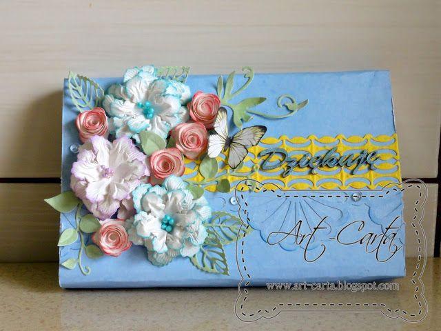 Art-Carta : Słodkości ubrane w kwiaty