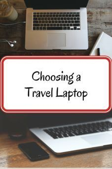 Having trouble choosing a Travel Laptop? Here's how we chose the best laptop for our round the world trip, including a breakdown of brands, prices and the advantages and disadvantages of different laptop models for travel.