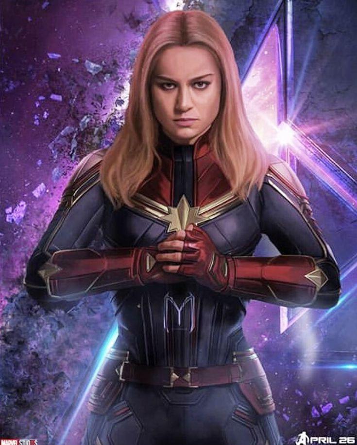Captain Marvel's ENDGAME Look (Fan-Art)