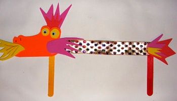 10 dragon crafts to do w/the kids for Chinese New Year!