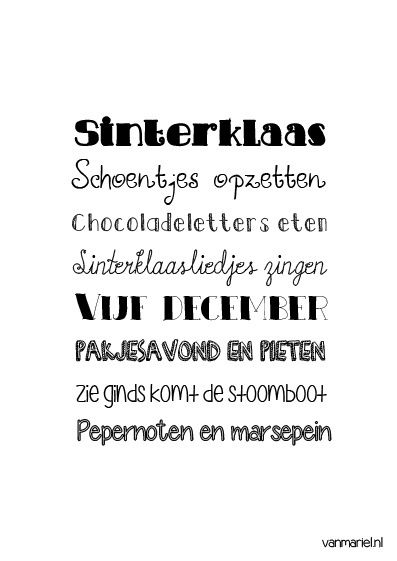 Betekenis #sinterklaas - #Quotes - Buy it at www.vanmariel.nl - Poster € 3,95 - Card € 1,25