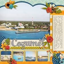 Image result for mexico scrapbook layouts