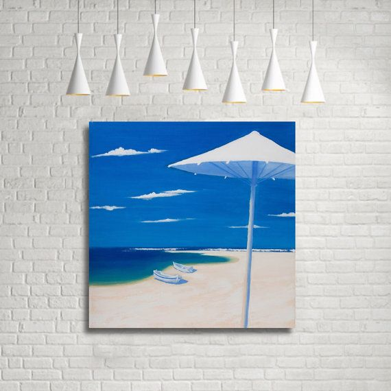 Beach print Seascape Art Print Original Art Print by MaritimArt