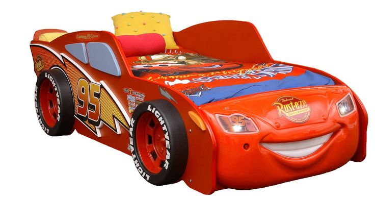 Disney Cars Lightning McQueen Toddler Bed ECO Friendly