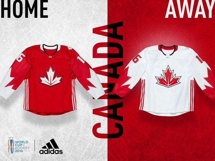 World Cup of Hockey 2016 Jerseys - Team Canada