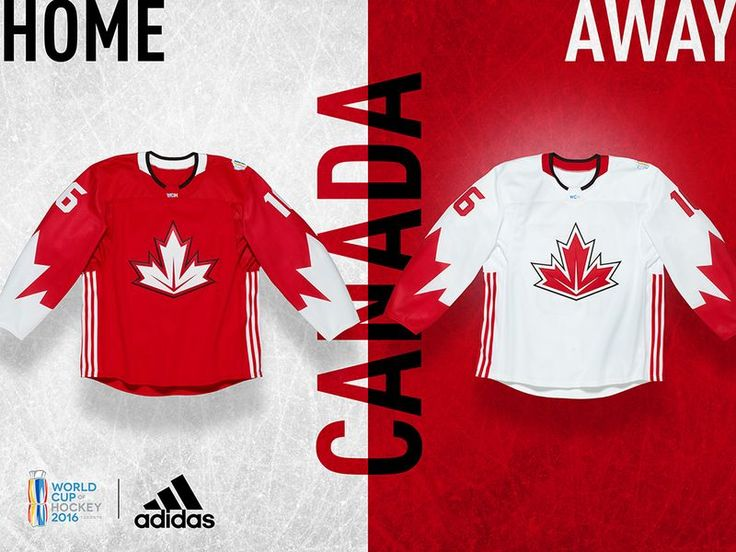 World Cup of Hockey 2016 Jerseys - Team Canada