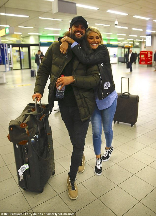Pals: Dan Edgar proved he's still got some charm with the ladies, as he was seen sharing a...