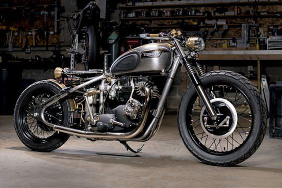 YOU ONLY LIVE TWICE. Analog Motorcycles Rebuild Their Classic 68 Triumph Bobber