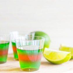Layered Margarita Jell-O(R) Shots - Allrecipes.com