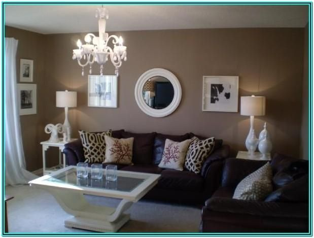 Living Room Decorating Ideas Brown Walls In 2020 Brown Living Room Decor Brown Couch Living Room Living Room Paint