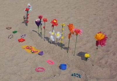 Strandbloemen - inspiratie