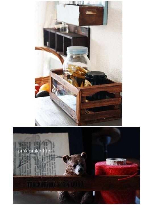 今日は100円木箱をアレンジした収納ボックスの作り方を紹介します^^スケルトンな前面とすのこ状に組まれた開放感のある木箱はミラクルぴったり賞~☆材料はコチ...
