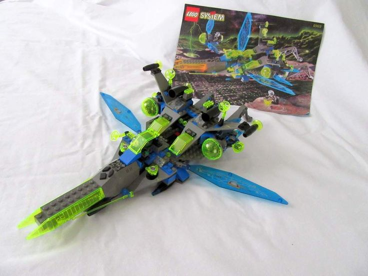 Lego System 6969 Insectoid Space Set Celestial Stinger with Manual 1998 #Lego