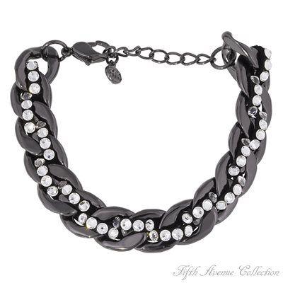 Ruthenium Bracelet - Pretty Plait - Australia - Fifth Avenue Collection - Jewellery that changes the way you see fashion