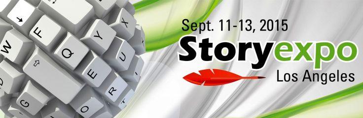 Sept. 11-13 - Screenwriter Janet Hetherington at Story Expo, Los Angeles, CA