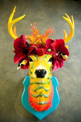 taxidermy for the easter hipster