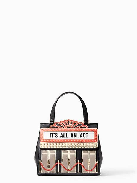 dress the part theater bag, black multi