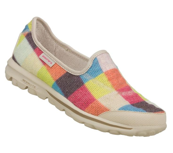 Skechers Go Walk Womens Tie Shoes