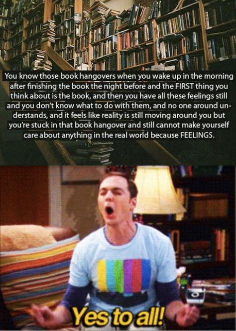 ugh book hangovers!