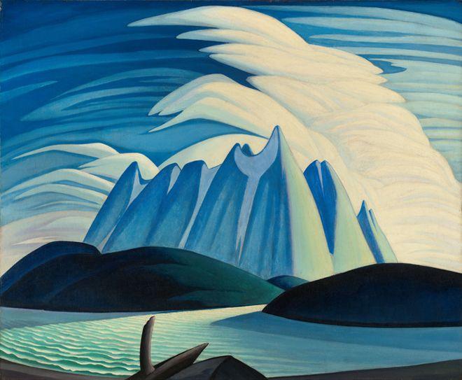 Lawren S. Harris, Lake and Mountains, 1928