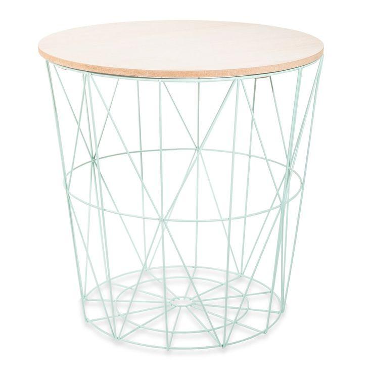 metal side table in green | Maisons du Monde