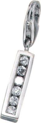 Jobo Einhänger Charm Buchstabe I 925 Sterling Silber mit Zirkonia Jetzt bestellen unter: https://mode.ladendirekt.de/damen/schmuck/halsketten/silberketten/?uid=f365ed36-6851-5106-a852-8889c2e05266&utm_source=pinterest&utm_medium=pin&utm_campaign=boards #schmuck #halsketten #silberketten #bekleidung