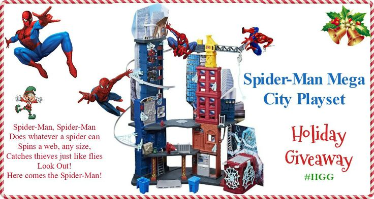 Spider-Man Mega City Playset #HGG
