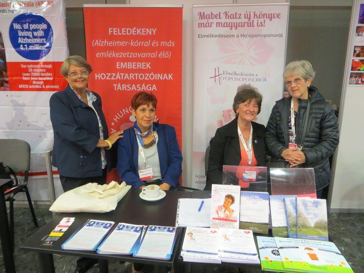 Küldetésben. Mabel Katz és a Ho'oponopono a Nemzetközi Alzheimer Kongresszuson Budapesten. www.HooponoponoWay.hu