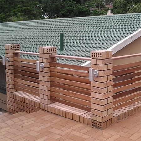 The Popularity Of Timber Fencing For Boundary Walls, Particularly At The  Front Of A Property