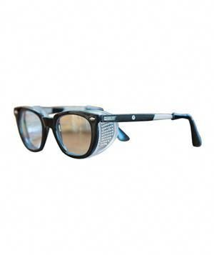 Retro Safety Glasses With Tough Polycarbonate Lenses And Removable