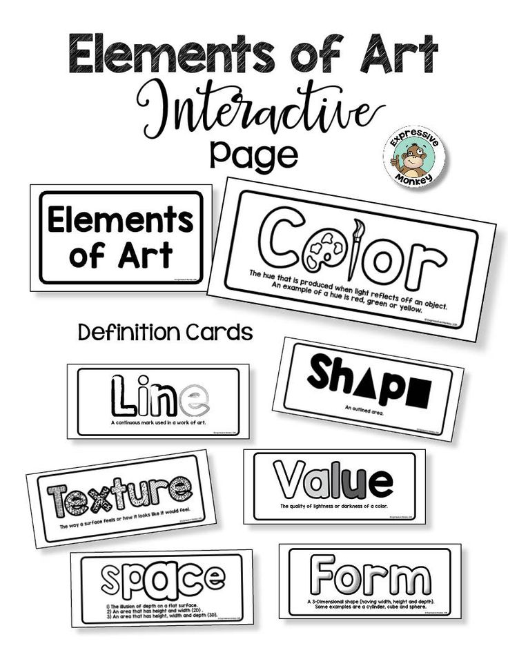 Visual Elements Definition : Best ideas about elements of art definition on