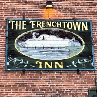 The oft-photographed Frenchtown Inn in Frenchtown New Jersey. Founded by French-speaking Swiss emigrees fleeing the French Revolution the town has Bastille day celebrations all day tomorrow. For more information visit @Frenchtownnj and @delawarerivertowns. (Add'l source: Wiki) #FrenchtownNJ #Frenchtown #HunterdonCounty #GardenState #NJ #PA #BucksCounty