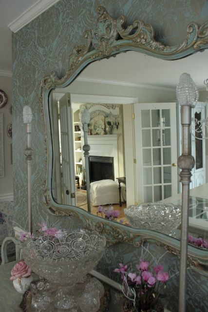Some day I want a huge, lovely mirror in my fancy room that I will have for reading and relaxing when I am old :)