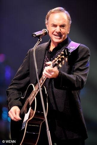 Neil Diamond. . .I swear he was looking at me in Row 5, Seat 2!