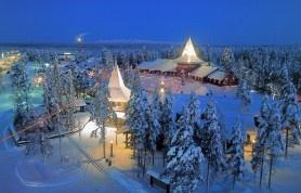 Satul lui Moș Crăciun din Finlanda  http://www.viziteazalumea.ro/stiri/obiective-turistice-in-tara-lui-mos-craciun/