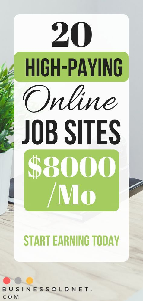 20 Best Online Job Sites to Make Extra Money 2019 – AN C