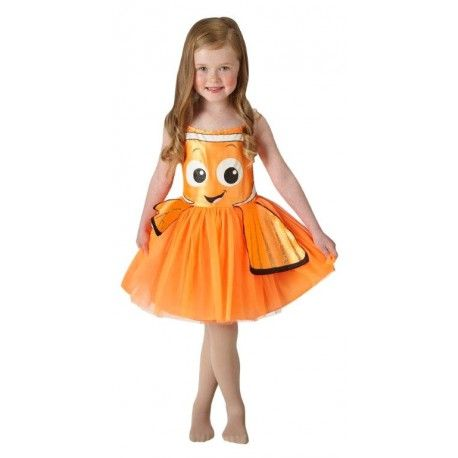 Si tu niña se vuelve loca con la nueva película de Buscando a Dory, o con la ya clásica Buscando a Nemo, este disfraz le encantará. Envío en sólo 24 horas.