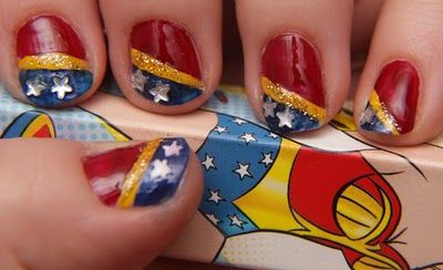 Makeup your Jangsara: Crazy Makeup Lady = Wonder Woman?
