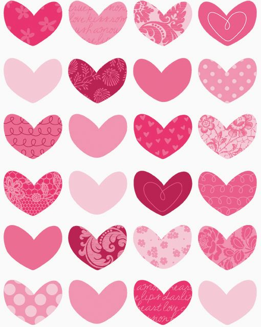 hearts: Studios Design, Valentines Heart, Heart Cookies, Pink Heart, Background, Valentines Day Heart, Hiccup Studios, Heart Inspiration, Prints