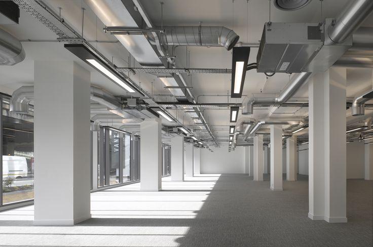 Concrete Ceiling Lighting Architecture