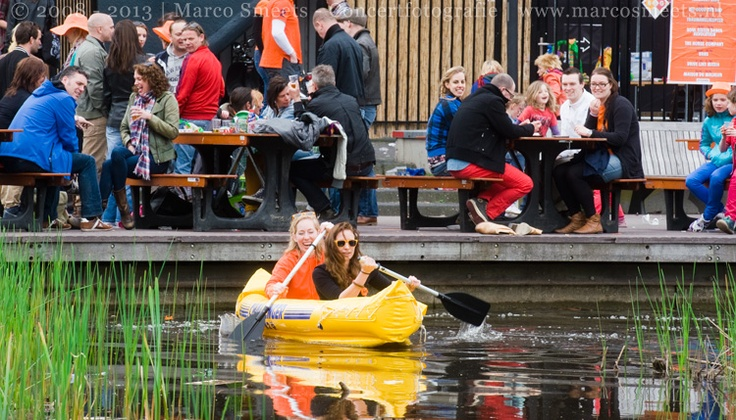Sfeerfoto's Tuin Effenaar - Koninginnedag Festival