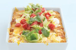 Santa Fe Enchilada Bake recipe...my coworker made this and it was delicious!!!