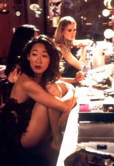 dancing-at-the-blue-iguana! Sandra Oh amazing
