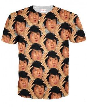 JACKIE CHAN Koszulka Tshirt Full Print